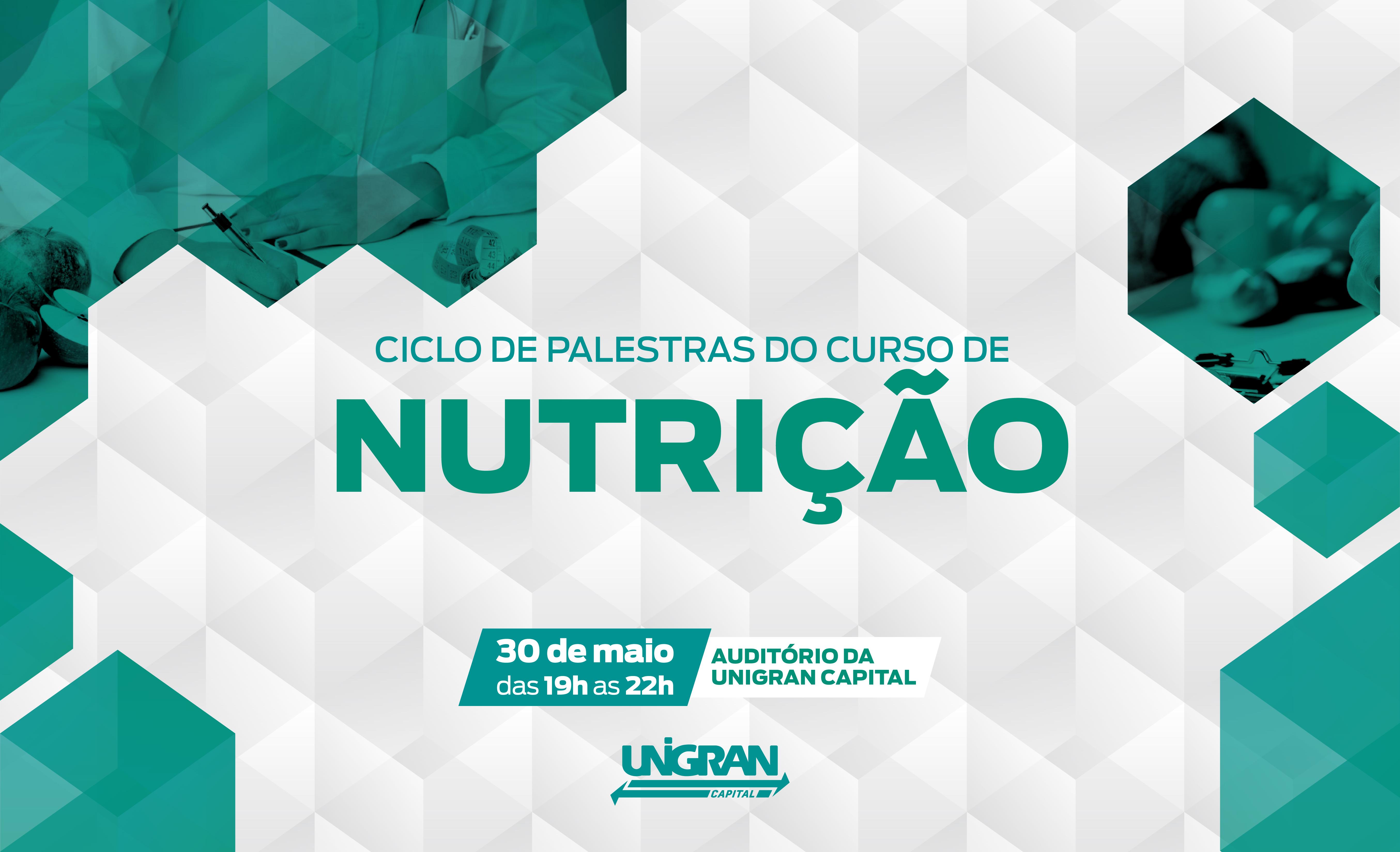 Curso de Nutrição promove ciclos de palestras na área